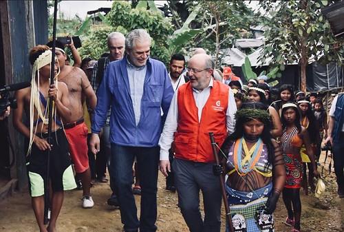 Visita a Colombia de Fernando García Casas, SECIPIC