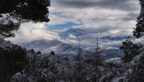 338. La Alfaguara. Vistas sobre Sierra Nevada.
