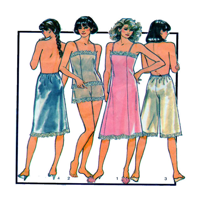 Style 4839 lingerie sewing pattern