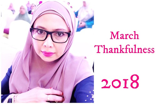 March thankfulness 2018