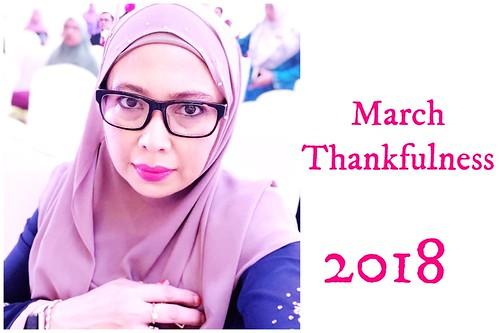 March thankfulness 2018