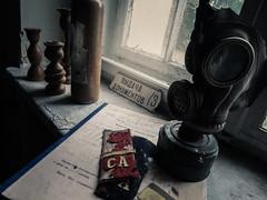 Abandoned soviet base
