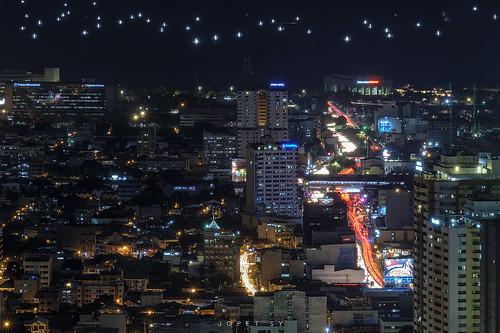 cityscapes city makati fujifilm fuji metro metropolis manila philippines sunset