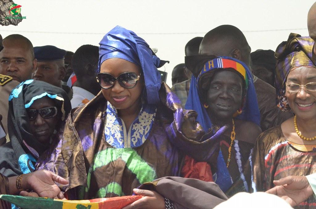 Inauguration d'infrastructures  de base à Mbakhna Par la Fondation SONATEL (99)