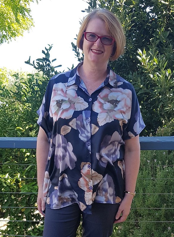 Style Arc Maude tunic in synthetic something
