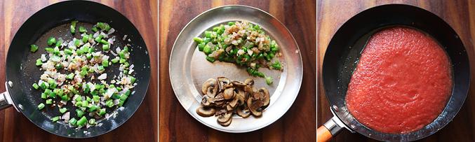 How to make mushroom pasta bowl recipe - Step3