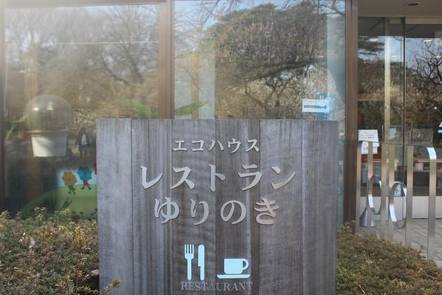 新宿御苑内の ランチどころ「レストランゆりのき」