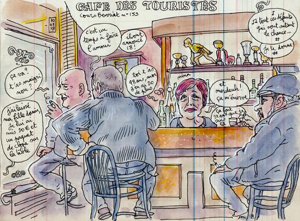 """""""le café des touristes"""""""