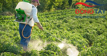 Tiếp xúc thường xuyên với thuốc trừ sâu diệt cỏ có thể gây hội chứng Parkinson