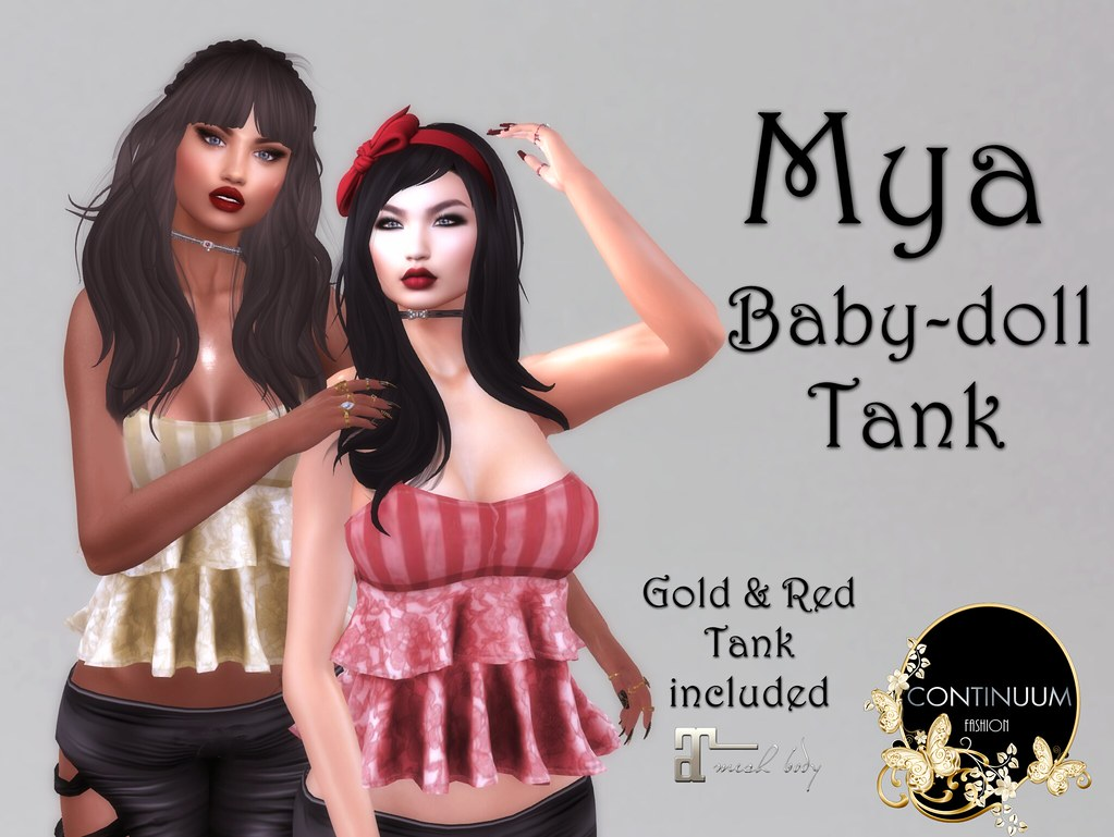 Continuum Mya GIFT - TeleportHub.com Live!