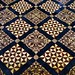 Victorian floor tiles, Cathedral and Abbey Church of Saint Alban, Saint Albans, Hertfordshire, England