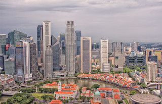 Singapore River & Central Business District