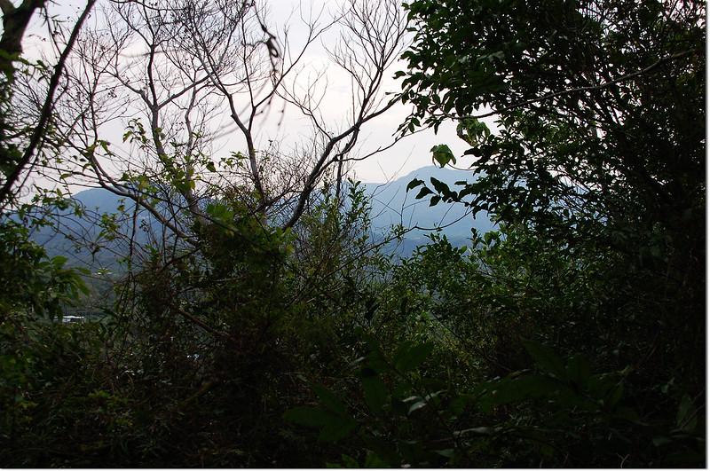 三重溪山東眺大棟山、枕頭山