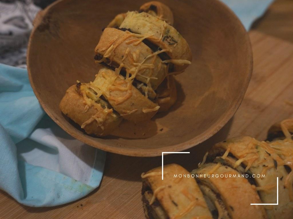 roulés de tapenade 'olices à la fève tonka