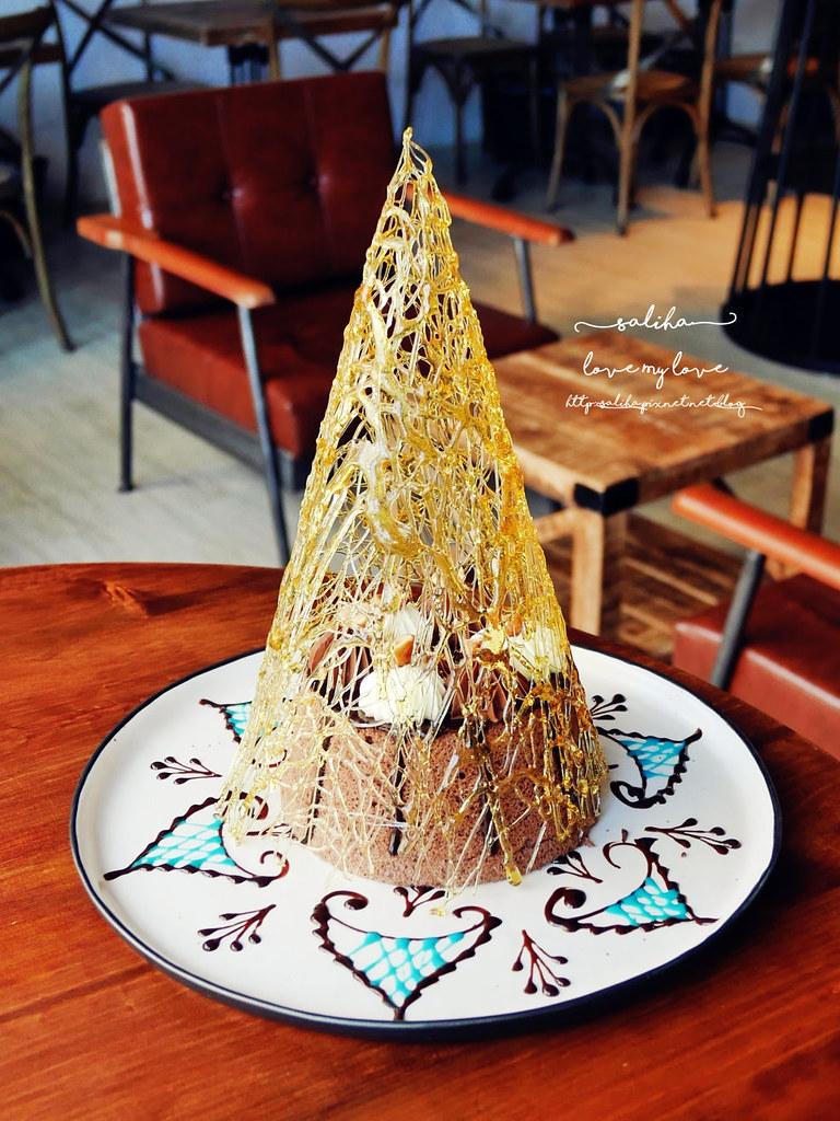 台北捷運松江南京站餐廳蛋糕時安靜好烏列爾之巔