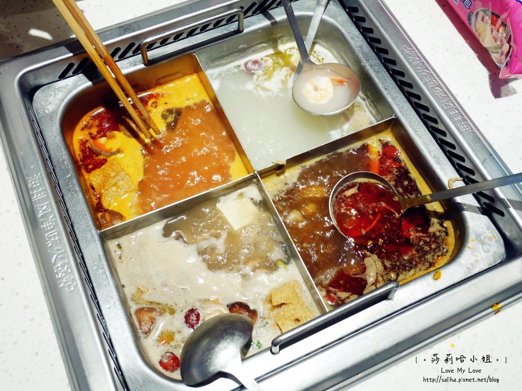 台北車站京站美食餐廳海底撈火鍋湯頭價位