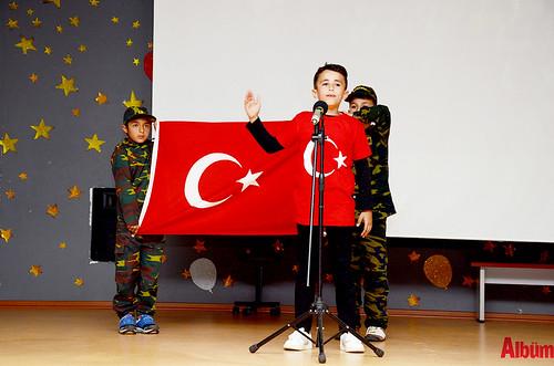 Alanya'da İstiklal Marşı'nı okumak için yarıştılar-5