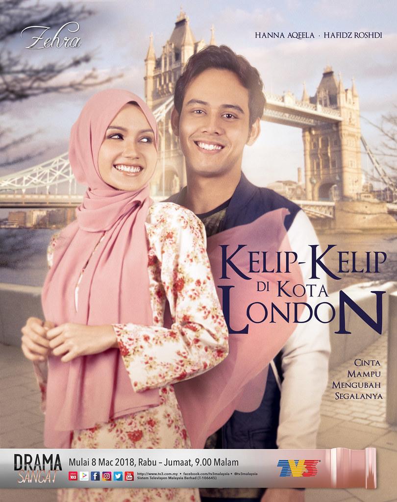 Poster Kelip Kelip Di Kota London