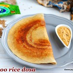 Moongil arisi dosai
