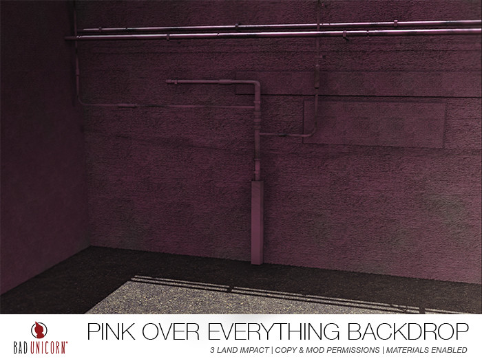 NEW! Pink Over Everything Backdrop! - TeleportHub.com Live!