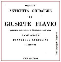 Antichità Giudaiche, di Giuseppe Flavio, anno 93 d.C.
