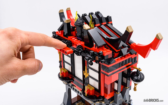 REVIEW LEGO 70643 Temple of Resurrection