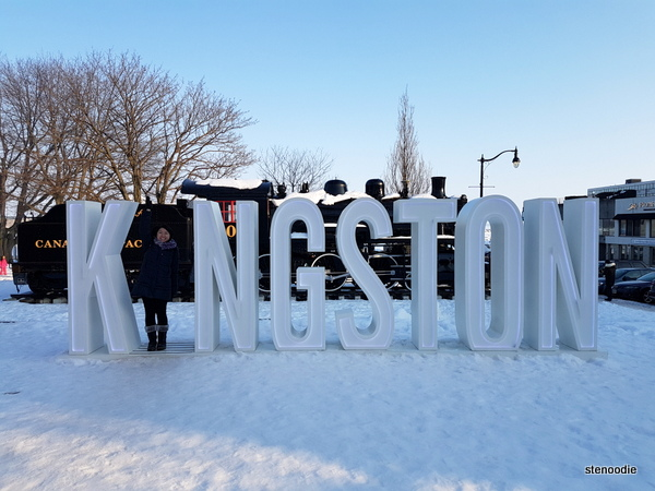 Kingston sign