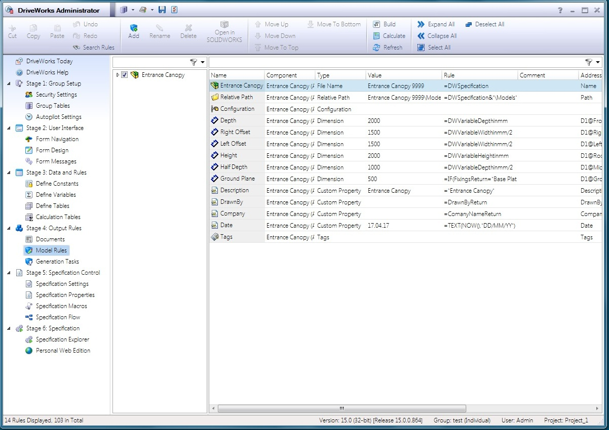 Working with DriveWorks Pro v15 SP2 full license