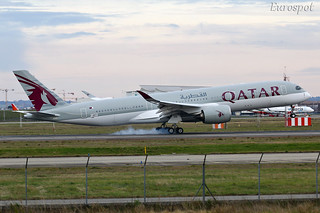 F-WZFV Airbus A350 Qatar Airways