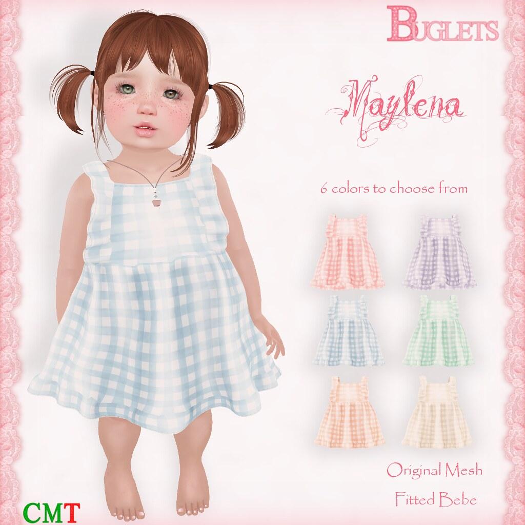 Maylena Dress AD - TeleportHub.com Live!