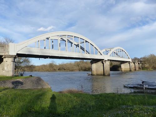 Josse, Landes: pont de Marquèze sur l'Adour