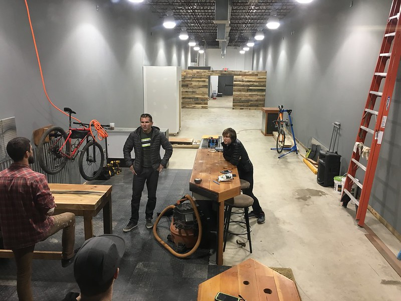 New bike shop is backed by cycling community