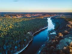 Neris Regional Park | Lithuania Aerial