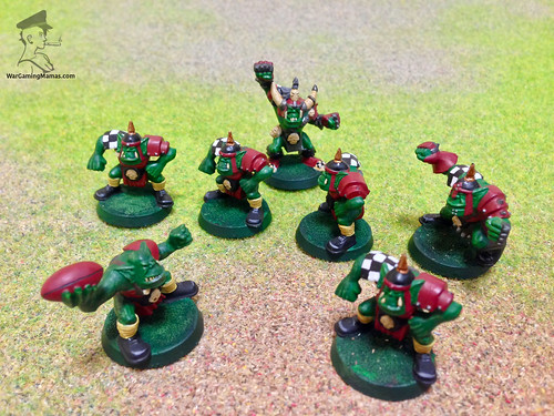 gouged eye bloodbowl team