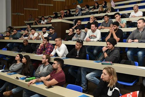 יום חשיפה של חברת אינטל במכללה הטכנולוגית באר שבע