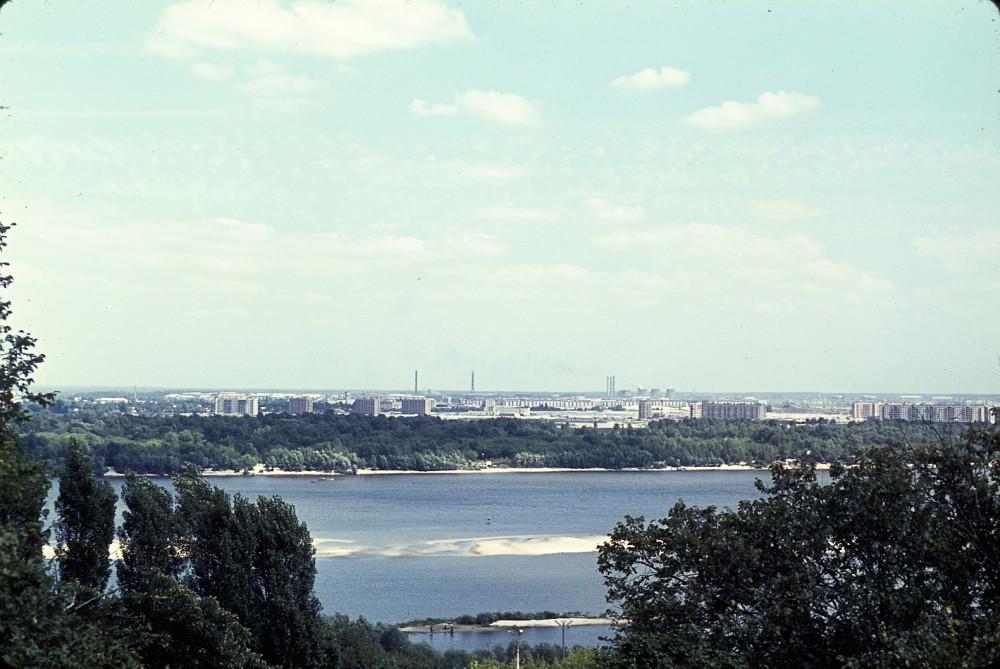 Вид на Заднепровье