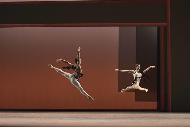 Marcelino Sambé and Mayara Magri in Corybantic Games, The Royal Ballet. © ROH, 2018. Photographed by Andrej Uspenski.