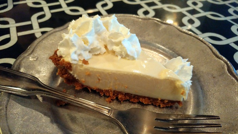 The Key Lime Pie that Chris had for dessert