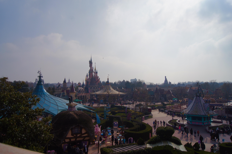 Disneyland Paris Trip - maze view
