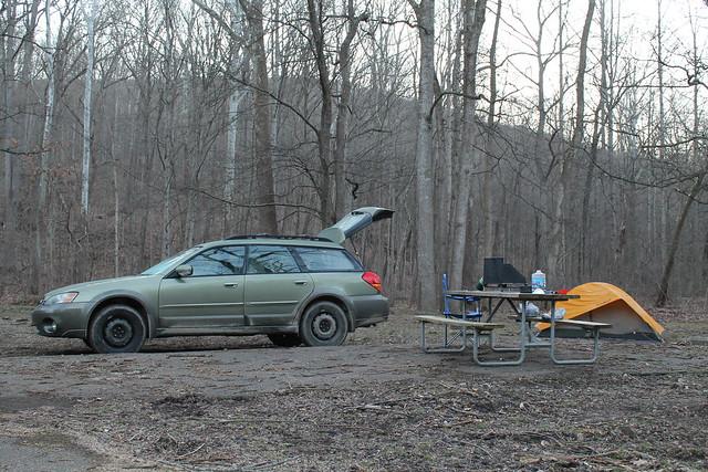 Subaru Camping