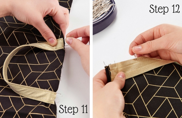 DIY Garment Bag Step 11 12