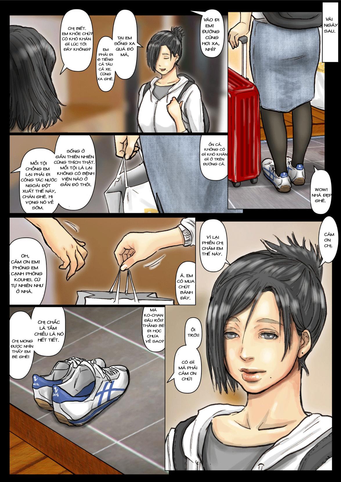 HentaiVN.net - Ảnh 3 - Oba-san no Karada ga Kimochi Yosugiru kara 2 - Boku no Oba-san wa Chou Meiki Datta 02 - Chap 03