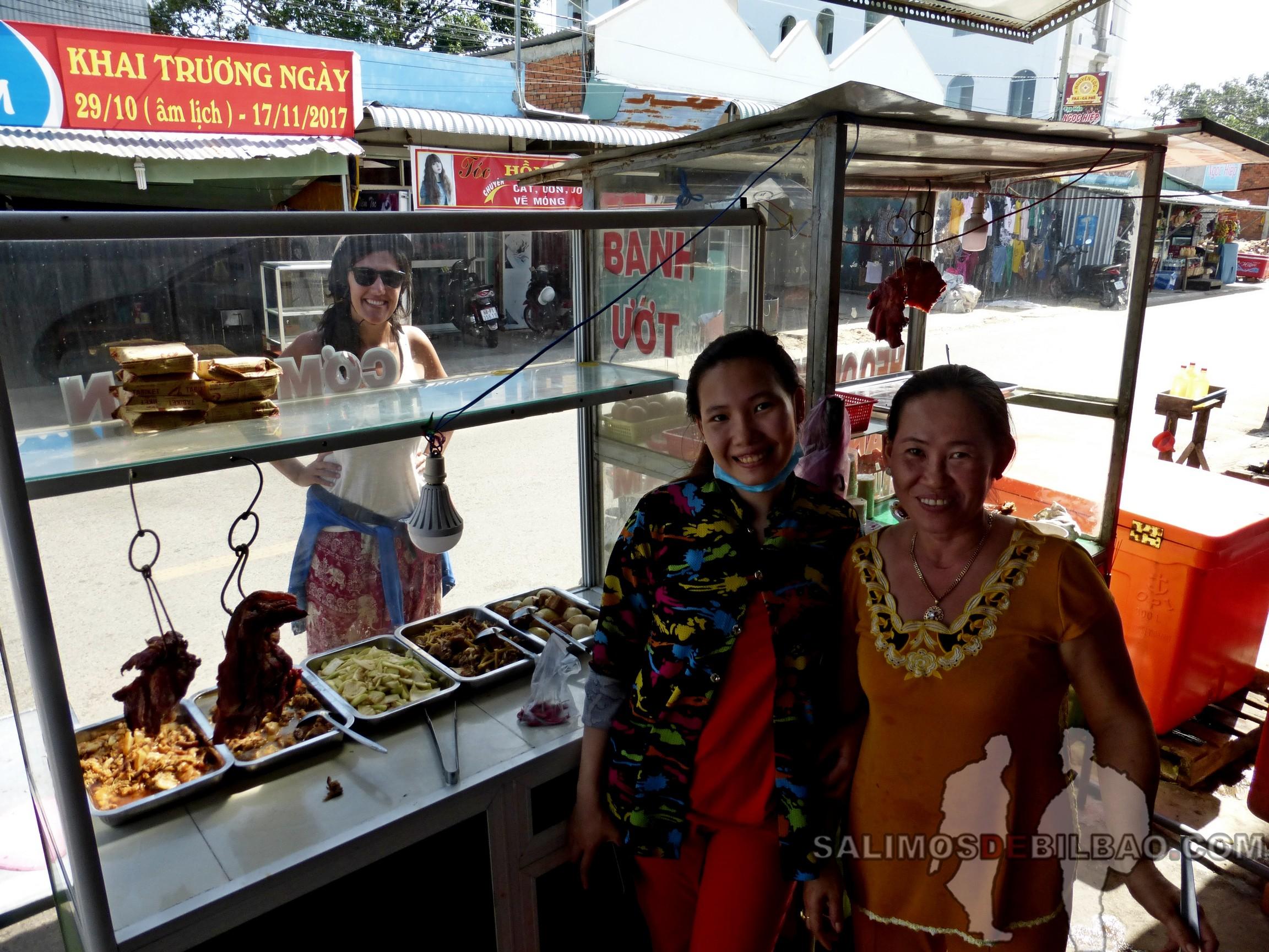 0154. Saioa, Puesto de comida, Noreste de Phu Quoc
