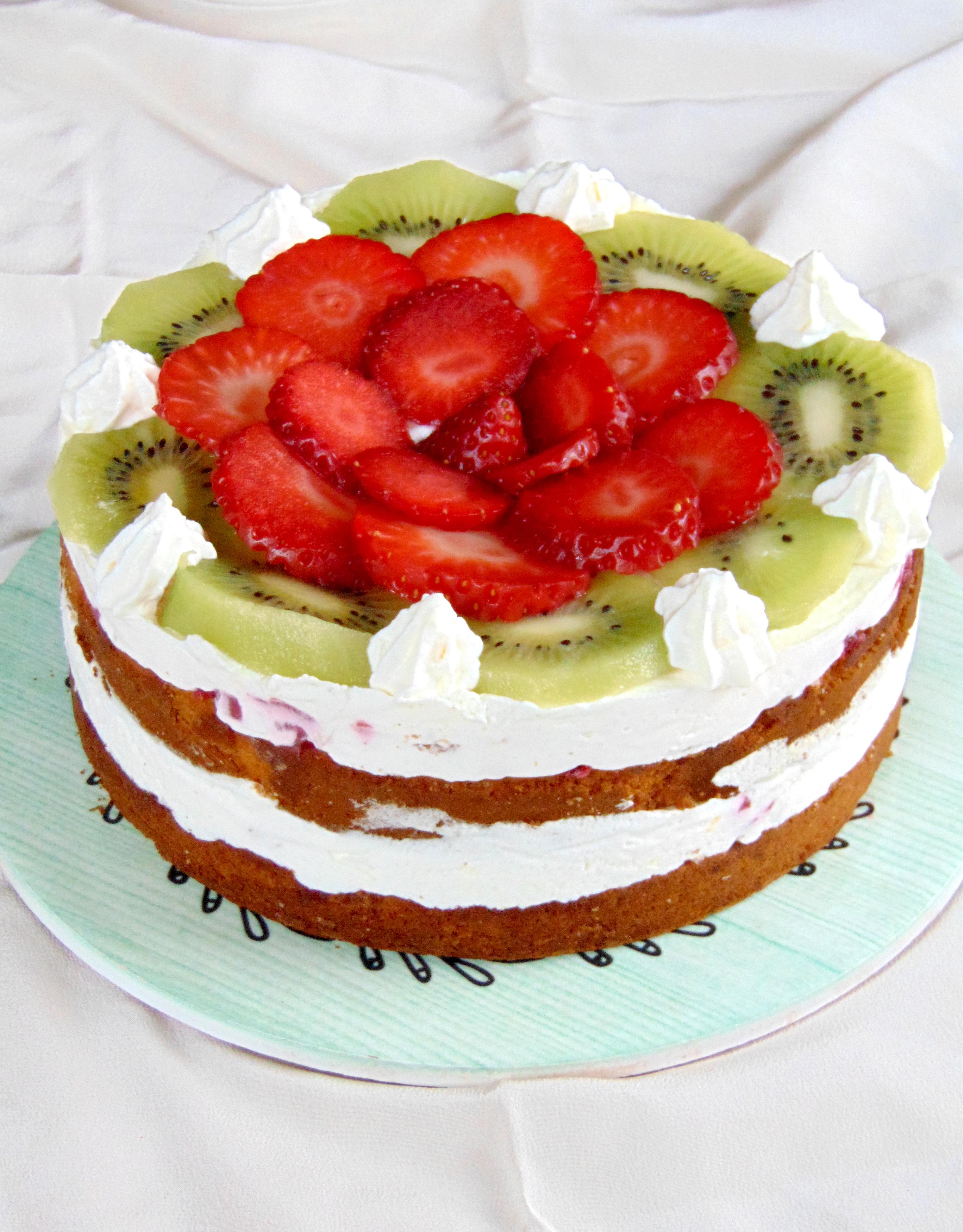 torta frutta e ricotta 9