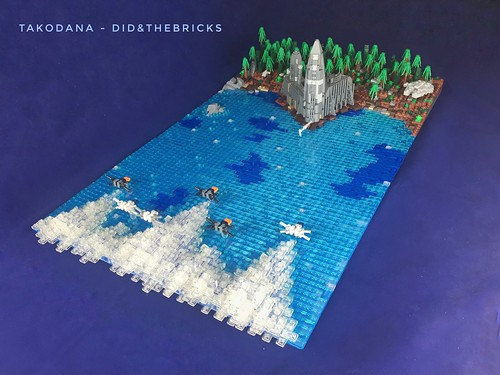 Takodana diorama - StarWars VII