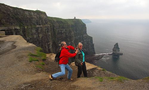 Us at the Cliffs of Moher, Ireland