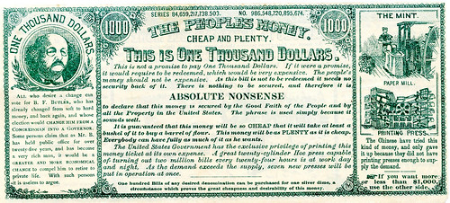 Absolute Money satirical note 3-front