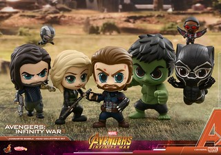 賣萌之戰?! Hot Toys - COSB429-466《復仇者聯盟3:無限之戰》Avengers: Infinity War Cosbaby (S) Bobble-Head Series