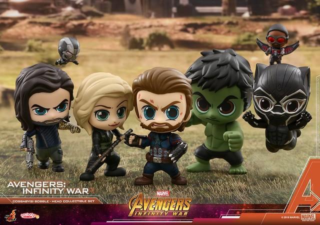 賣萌之戰?! Hot Toys - COSB429-466《復仇者聯盟3:無限之戰》Avengers: Infinity War Cosbaby (S) Bobble-Head Series