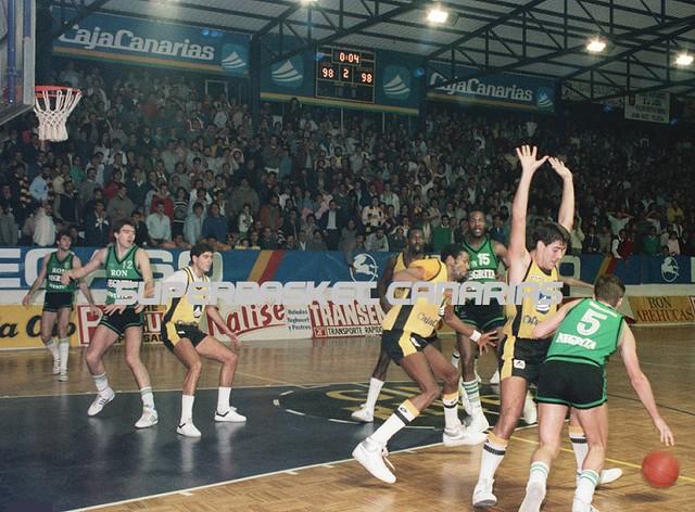 Un equipo de Archivo: Cajacanarias-Ron Negrita Joventut (Temporada 1986-87)